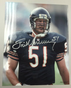 JIM MORRISSEY - Chicago Bears - AUTOGRAPHED 8x10 (Standing)