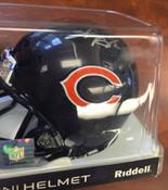 SHAUN GAYLE - Chicago Bears - AUTOGRAPHED MINI HELMET