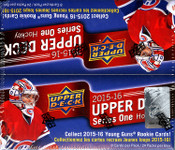 2015/16 Upper Deck Series 1 Hockey Retail Box