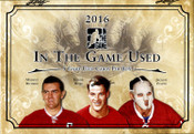 2015/16 Leaf ITG Game Used Hockey Hobby Box