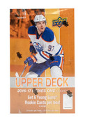 2016/17 Upper Deck Series 1 Hockey Hobby Box