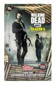 2016 Topps The Walking Dead Season 5 Trading Cards Hobby Box