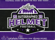 2016 Leaf Autographed Full Sized Helmet Football Box