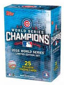 2016 Topps Commemorative CHICAGO CUBS WORLD SERIES BOX SET