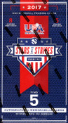 2017 Panini USA Stars and Stripes Baseball Hobby Box
