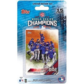 2016 Topps Commemorative CHICAGO CUBS WORLD SERIES Blister SET