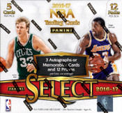 2016/17 Panini Select Basketball Hobby Box