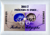 2017 Historic Autographs Friends-N-Foes Football Hobby Box