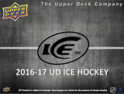2016/17 Upper Deck ICE Hockey Hobby Box