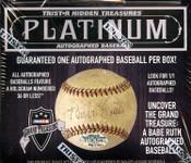 2016 Tristar Autographed Baseball Platinum Edition Box