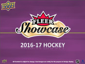 2016/17 Upper Deck Fleer Showcase Hockey Hobby Box