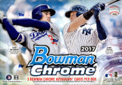 2017 Bowman Chrome Baseball HTA Choice Box