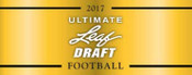 2017 Leaf Ultimate Draft Football Hobby Box