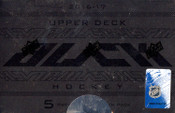 2016/17 Upper Deck Black Hockey Hobby Box (For Pricing text: UDPRICING to 630-664-6580)