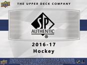 2016/17 Upper Deck SP Authentic Hockey Hobby Box