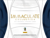 2017 Panini Immaculate Baseball Hobby Box