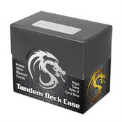 BCW Gaming Deck Case - Tandem - Black