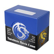 BCW Gaming Deck Case - Tandem - Blue
