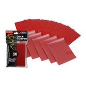 BCW Gaming Deck Guard - Matte - Red