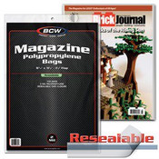 BCW Resealable Magazine Bags