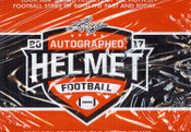 2017 Leaf Autographed Full Sized Helmet Football Box