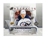 2017/18 Upper Deck Artifacts Hockey Hobby Box  (For Pricing text: UDPRICING to 630-664-6580)