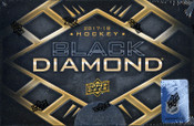 2017/18 Upper Deck Black Diamond Hockey Hobby Box (For Pricing text: UDPRICING to 630-664-6580)