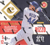 2017 Panini Chronicles Baseball Hobby Box