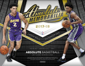 2017/18 Panini Absolute Basketball Hobby Box