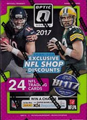 2017 Panini Donruss Optic Football Blaster Box