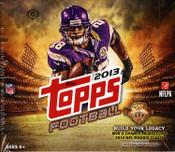 2013 Topps Football HTA Hobby Jumbo