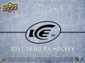 2017/18 Upper Deck Ice Hockey Hobby Box  (For Pricing text: UDPRICING to 630-664-6580)