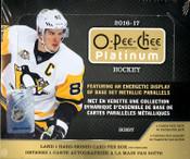 2016/17 Upper Deck O Pee Chee Platinum Hockey Hobby Box