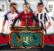 2017/18 Panini Select Soccer Hobby Box