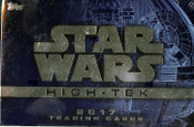 2017 Topps Star Wars High Tek Hobby Box