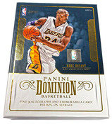 2017/18 Panini Dominion Basketball Hobby Box