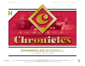 2018 Panini Chronicles Baseball Hobby 16 Box Case