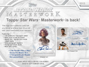 2018 Topps Star Wars Masterworks Hobby Box