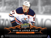 2018/19 Upper Deck Series 1 Hobby Box (For Pricing Text: UDPRICING to 630-664-6580)