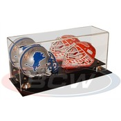 BCW Double Acrylic Mini Helmet Display - With Mirror AD02-02