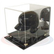 BCW Acrylic Baseball Helmet Display - With Mirror AD26