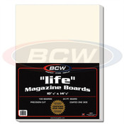 BCW Life Magazine Backing Boards