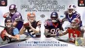 2014 Topps Platinum Football Hobby Box