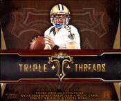 2014 Topps Triple Threads Football Hobby Box