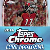 2014 Topps Chrome Mini Football Hobby Box