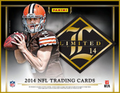 2014 Panini Limited Football - Hobby Box