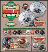 2015 Tristar Autographed Mini Helmet - Football