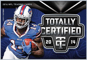2014 Panini Totally Certified Football - Hobby Box