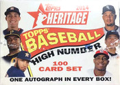 2014 Topps Heritage High Number Baseball Box Set