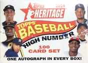 2014 Topps Heritage High Number Baseball Box Set